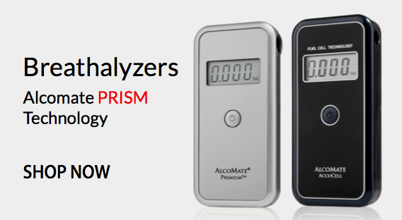 All about our professional breathalyzers